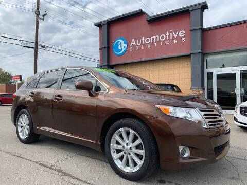 2009 Toyota Venza for sale at Automotive Solutions in Louisville KY