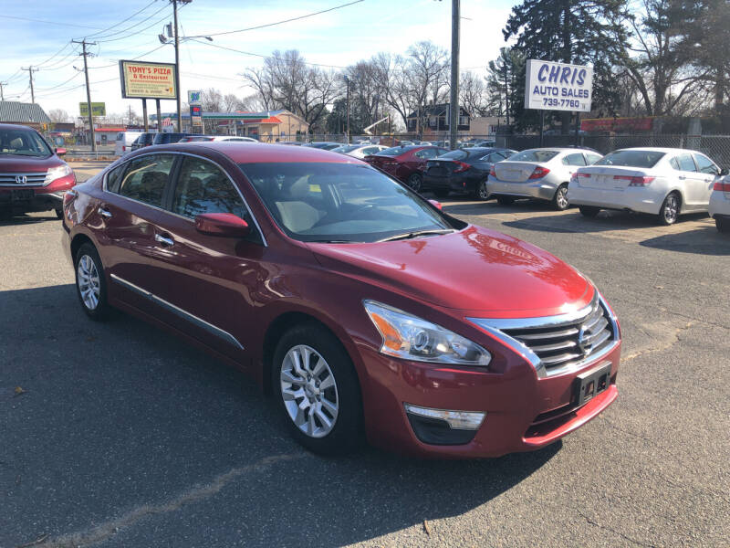 2015 Nissan Altima for sale at Chris Auto Sales in Springfield MA