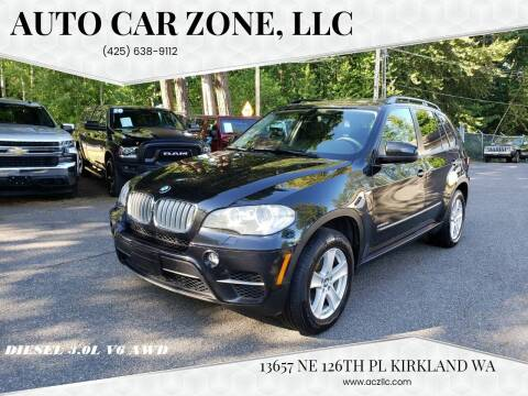 2012 BMW X5 for sale at Auto Car Zone, LLC in Kirkland WA