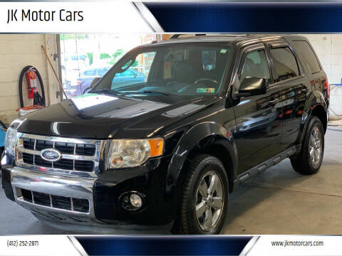 2010 Ford Escape for sale at JK Motor Cars in Pittsburgh PA