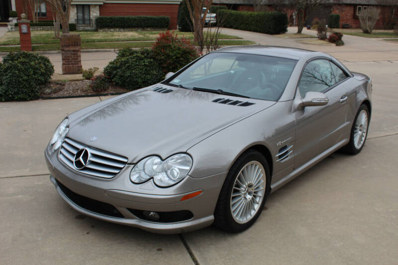2003 Mercedes-Benz SL-Class for sale at CANTWEIGHT CLASSICS in Maysville OK