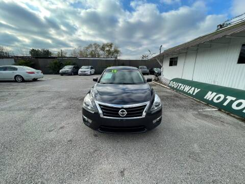 2014 Nissan Altima for sale at SOUTHWAY MOTORS in Houston TX