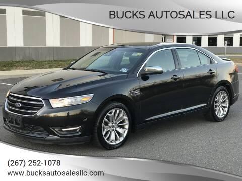 2013 Ford Taurus for sale at Bucks Autosales LLC - Bucks Auto Sales LLC in Levittown PA