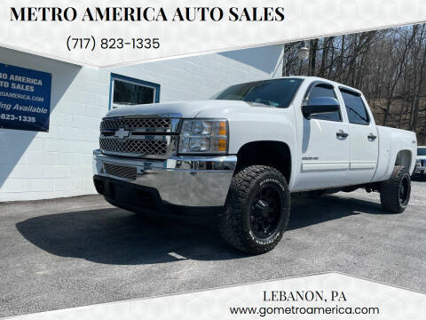 2014 Chevrolet Silverado 2500HD for sale at METRO AMERICA AUTO SALES of Lebanon in Lebanon PA