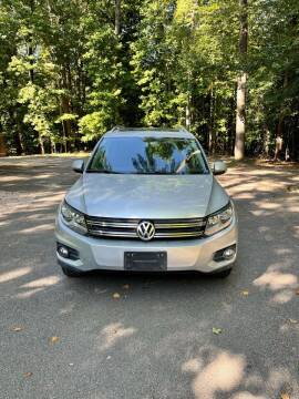 2013 Volkswagen Tiguan for sale at Amana Auto Care Center in Raleigh NC