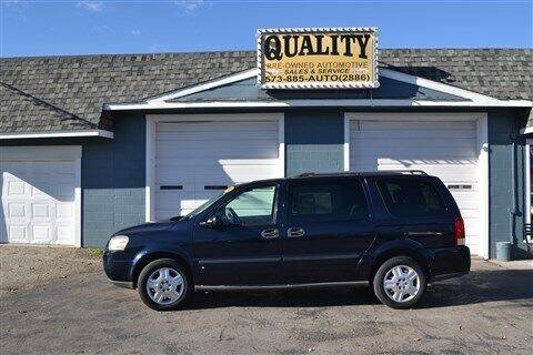 2007 Chevrolet Uplander for sale at Quality Pre-Owned Automotive in Cuba MO