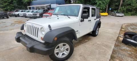 2008 Jeep Wrangler Unlimited for sale at Gwinnett Luxury Motors in Buford GA