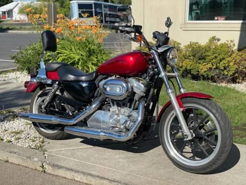 2012 Harley Davidson Sportster XL 883 for sale at Harper Motorsports-Powersports in Post Falls ID