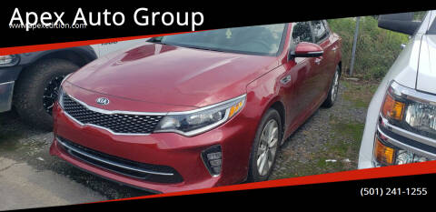 2018 Kia Optima for sale at Apex Auto Group in Cabot AR