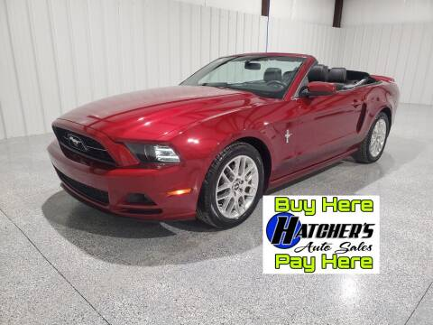 2014 Ford Mustang for sale at Hatcher's Auto Sales, LLC - Buy Here Pay Here in Campbellsville KY