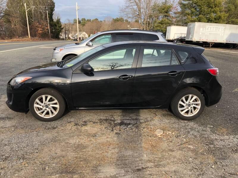 2013 Mazda MAZDA3 for sale at Perrys Auto Sales & SVC in Northbridge MA