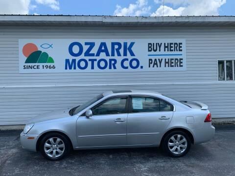 2008 Kia Optima for sale at OZARK MOTOR CO in Springfield MO