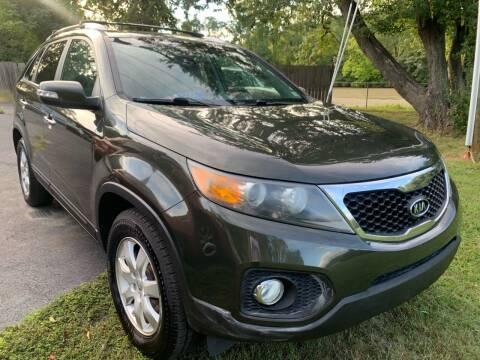 2012 Kia Sorento for sale at D & M Discount Auto Sales in Stafford VA