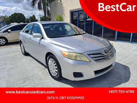 2010 Toyota Camry for sale at BestCar in Kissimmee FL