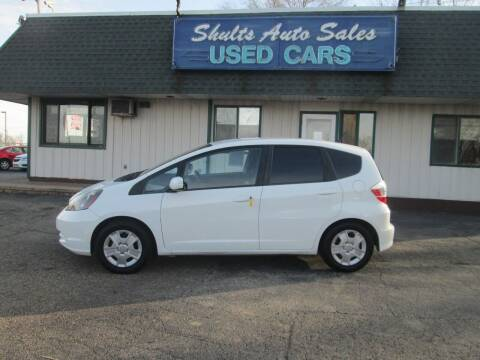 2013 Honda Fit for sale at SHULTS AUTO SALES INC. in Crystal Lake IL