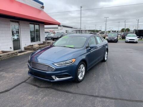 2018 Ford Fusion for sale at BORGMAN OF HOLLAND LLC in Holland MI