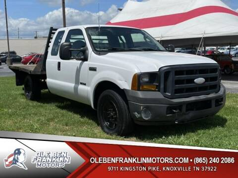 2007 Ford F-250 Super Duty for sale at Ole Ben Franklin Motors Clinton Highway in Knoxville TN