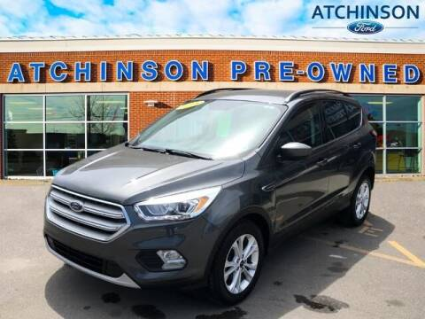 2018 Ford Escape for sale at Atchinson Ford Sales Inc in Belleville MI