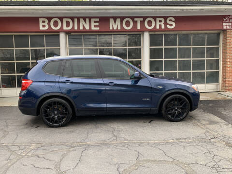 2016 BMW X3 for sale at BODINE MOTORS in Waverly NY
