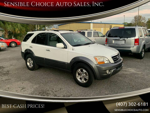 2008 Kia Sorento for sale at Sensible Choice Auto Sales, Inc. in Longwood FL