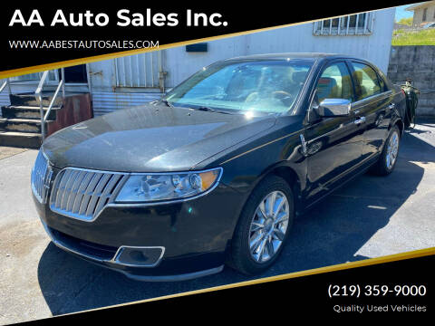 2011 Lincoln MKZ for sale at AA Auto Sales Inc. in Gary IN