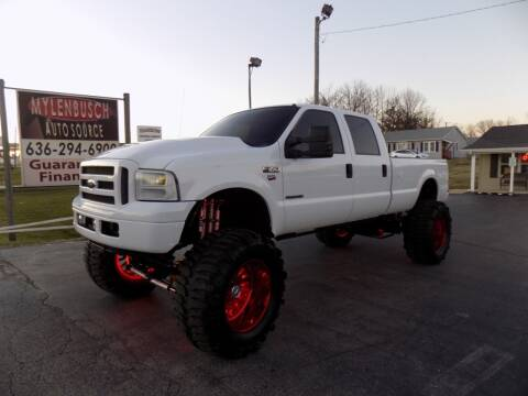 2001 Ford F-350 Super Duty for sale at MYLENBUSCH AUTO SOURCE in O` Fallon MO