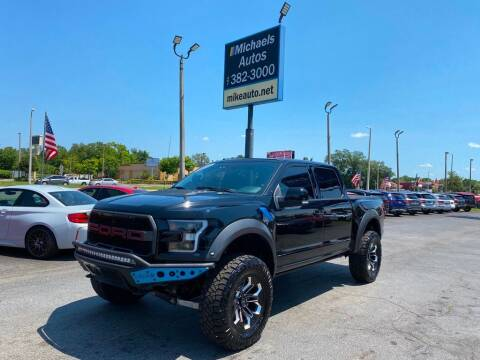 2018 Ford F-150 for sale at Michaels Autos in Orlando FL