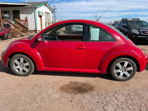 2006 Volkswagen New Beetle for sale at PYRAMID MOTORS - Fountain Lot in Fountain CO