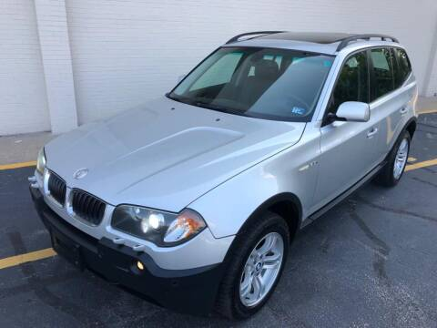 2005 BMW X3 for sale at Carland Auto Sales INC. in Portsmouth VA