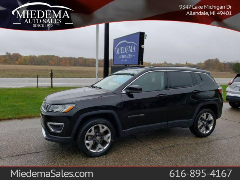 2018 Jeep Compass for sale at Miedema Auto Sales in Allendale MI
