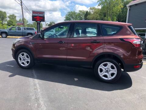 2018 Ford Escape for sale at GASPORT AUTO SALES AND SERVICE,INC in Gasport NY