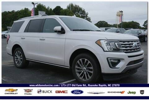 2018 Ford Expedition for sale at WHITE MOTORS INC in Roanoke Rapids NC
