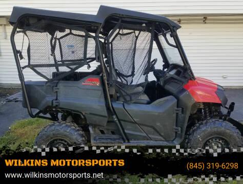 2016 Honda Pioneer 700-4 for sale at WILKINS MOTORSPORTS in Brewster NY