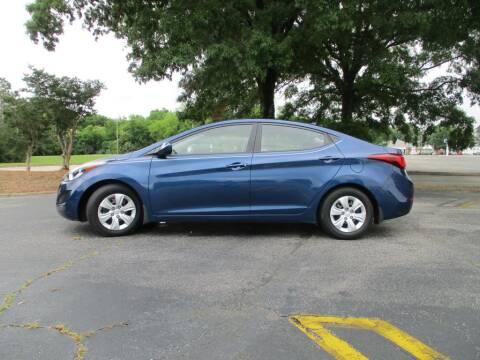 2016 Hyundai Elantra for sale at A & P Automotive in Montgomery AL