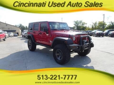 2007 Jeep Wrangler Unlimited for sale at Cincinnati Used Auto Sales in Cincinnati OH