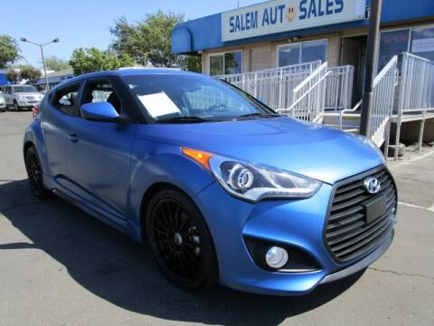 2016 Hyundai Veloster for sale at Salem Auto Sales in Sacramento CA