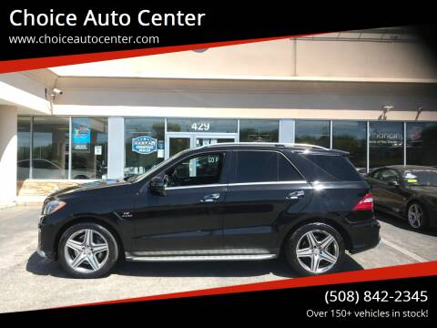 2015 Mercedes-Benz M-Class for sale at Choice Auto Center in Shrewsbury MA