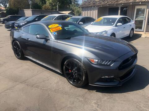 2017 Ford Mustang for sale at Devine Auto Sales in Modesto CA