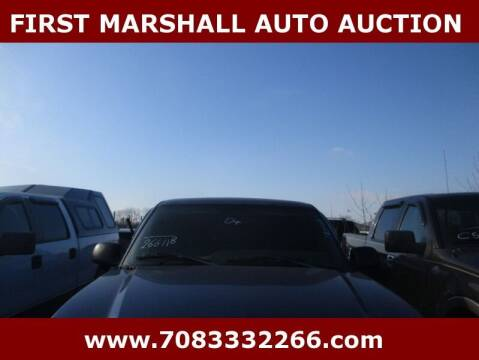 2004 Chevrolet Silverado 1500 for sale at First Marshall Auto Auction in Harvey IL