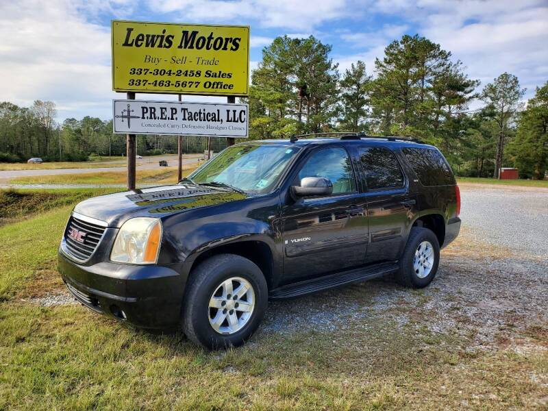 2007 GMC Yukon for sale at Lewis Motors LLC in Deridder LA
