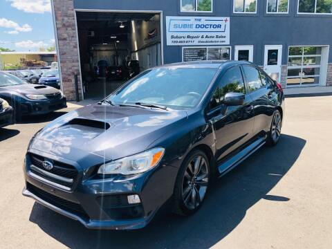 2015 Subaru WRX for sale at The Subie Doctor in Denver CO