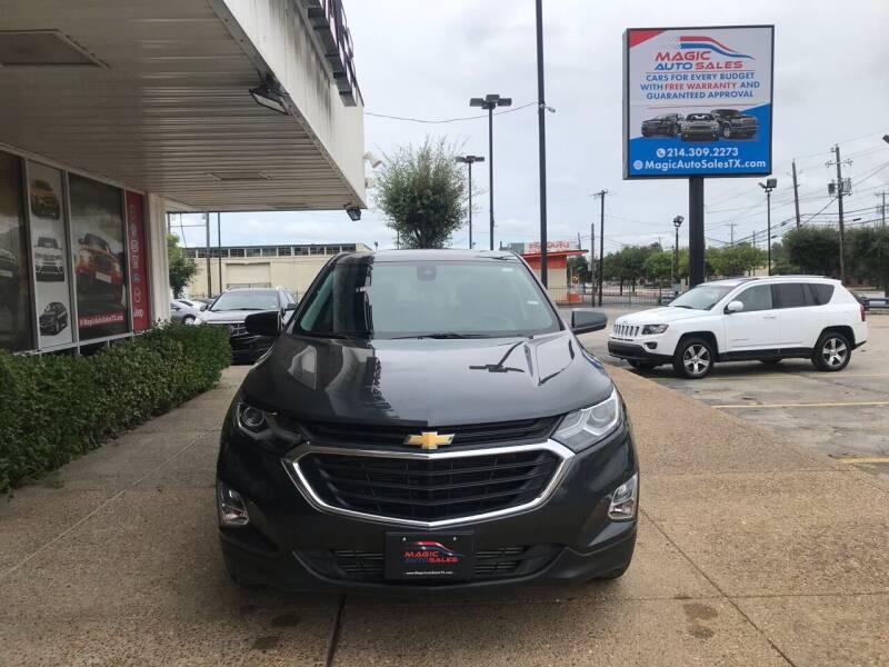 2020 Chevrolet Equinox for sale at Magic Auto Sales in Dallas TX