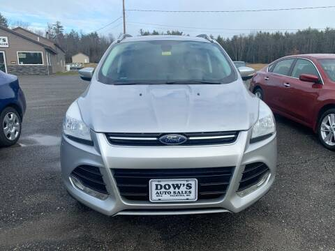 2014 Ford Escape for sale at DOW'S AUTO SALES in Palmyra ME