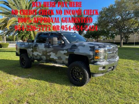2014 Chevrolet Silverado 2500 for sale at Transcontinental Car USA Corp in Fort Lauderdale FL