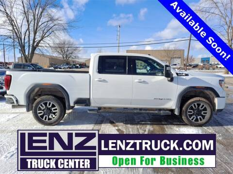 2020 GMC Sierra 2500HD for sale at LENZ TRUCK CENTER in Fond Du Lac WI