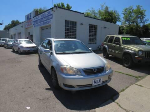 2006 Toyota Corolla for sale at Nile Auto Sales in Denver CO