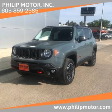 2016 Jeep Renegade for sale at Philip Motor Inc in Philip SD
