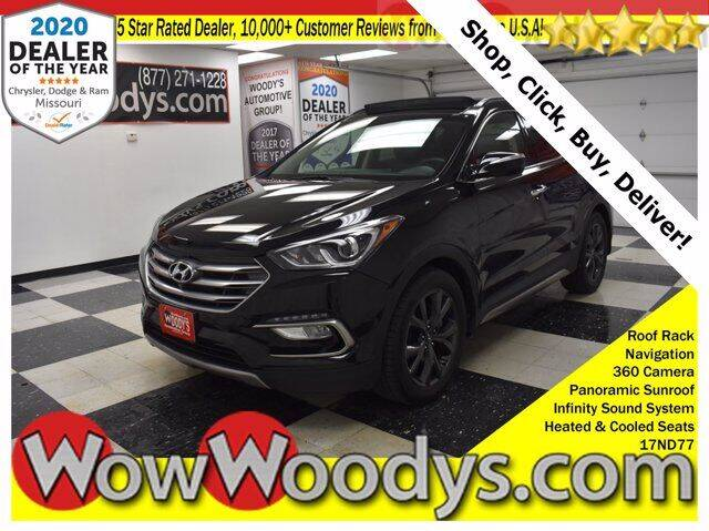 2017 Hyundai Santa Fe Sport for sale at WOODY'S AUTOMOTIVE GROUP in Chillicothe MO