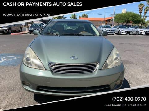 2006 Lexus ES 330 for sale at CASH OR PAYMENTS AUTO SALES in Las Vegas NV