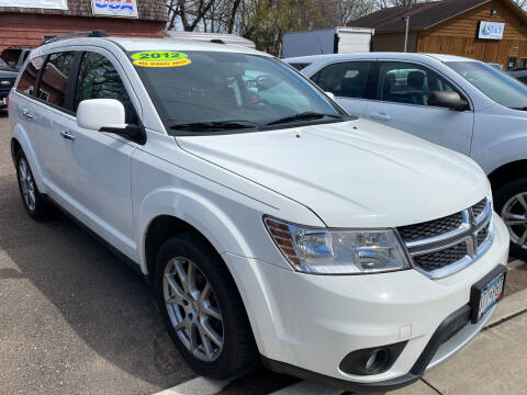 2012 Dodge Journey for sale at Sunrise Auto Sales in Stacy MN